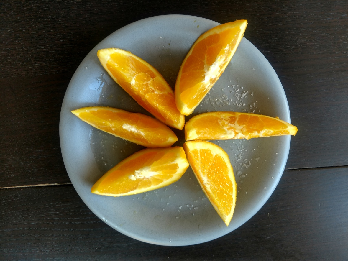 salty orange